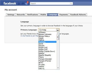 FacebookLanguage