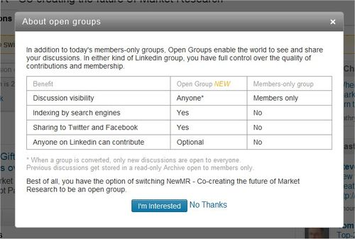 OpenGroups